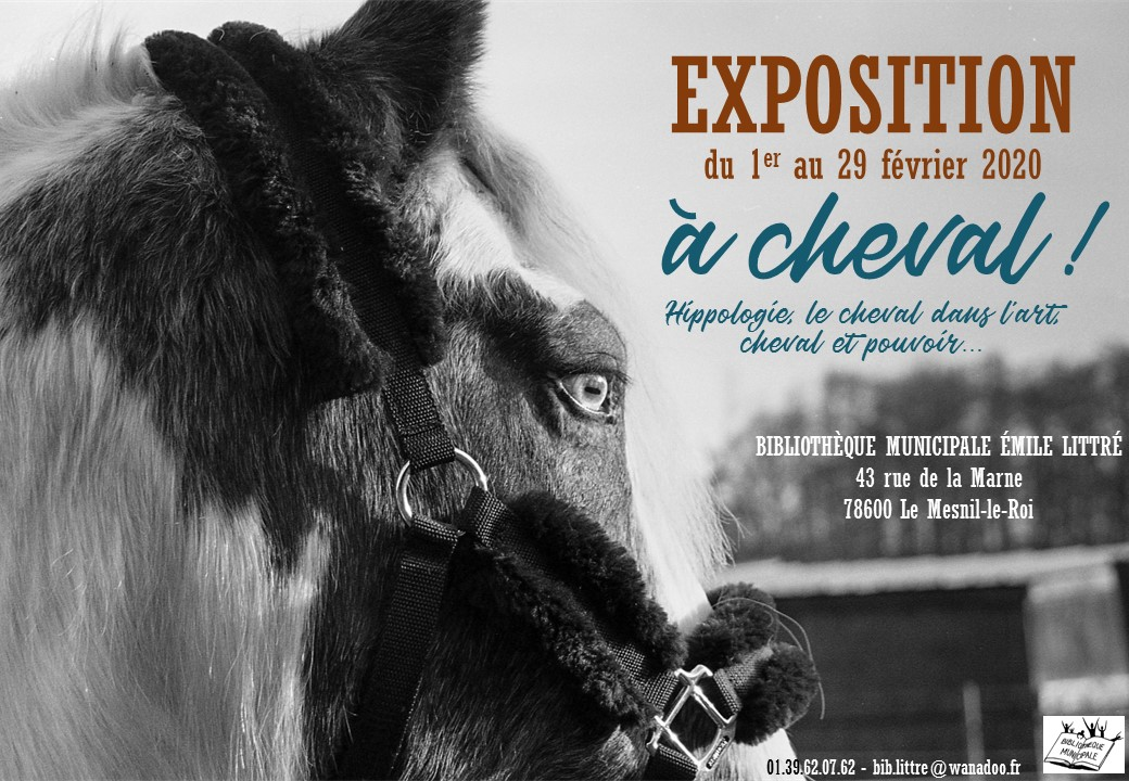 Affiche expo cheval - JPEG